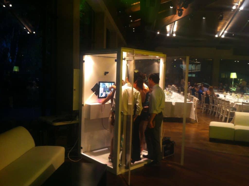תא צילום של FaceIt אירועים