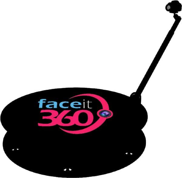 עמדת 360 לאירועים של FaceIt