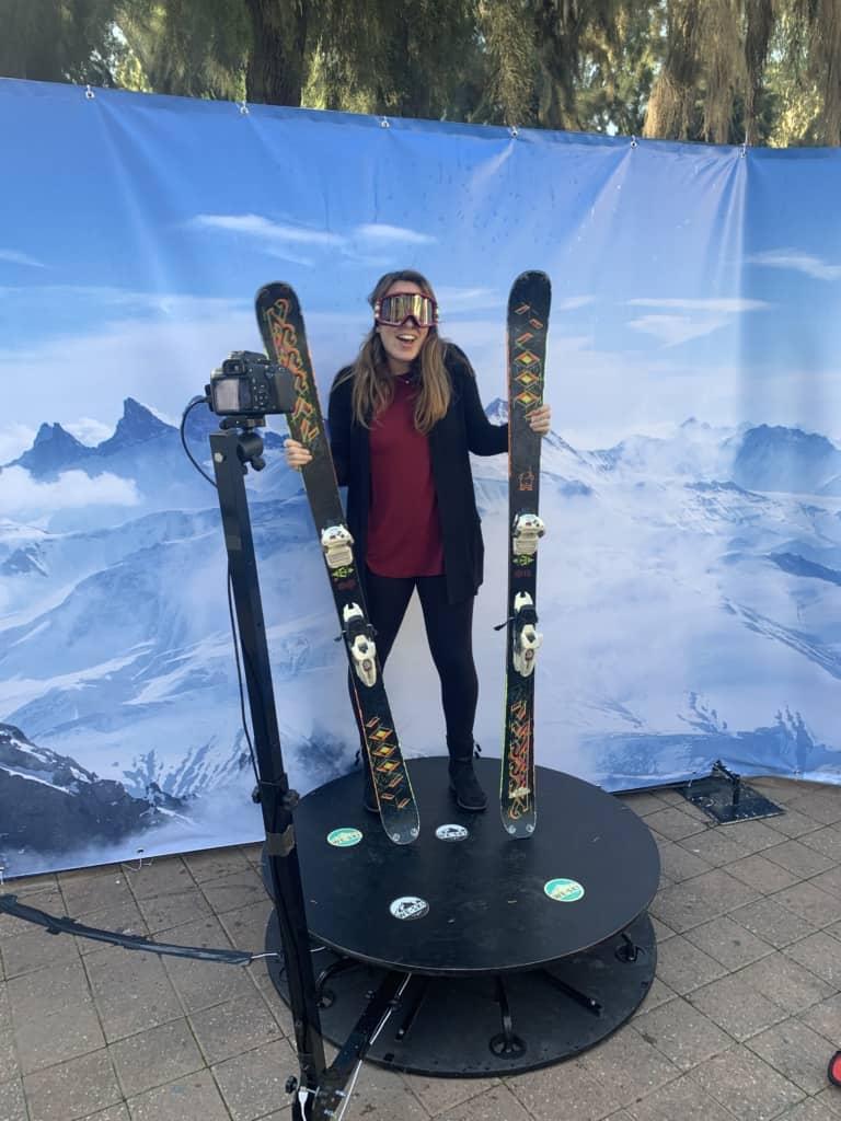 אירוע עסקי בניחוח סקי עם עמדת ה360 שלנו ;)