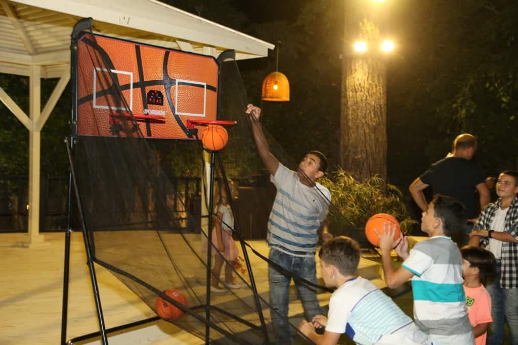 כדורסל לאירועים - בר מצווה שעשינו כאן בFaceIt
